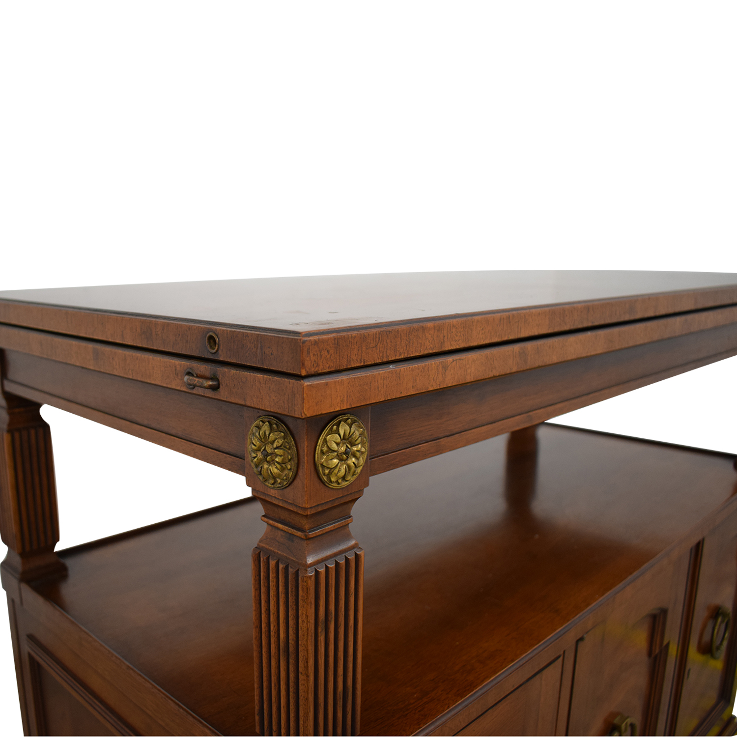 Drexel Heritage Drexel Heritage Traditional Wood Buffet Table second hand