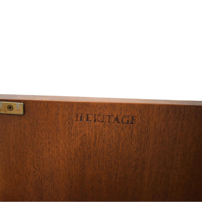 shop Drexel Heritage Traditional Wood Buffet Table Drexel Heritage Storage