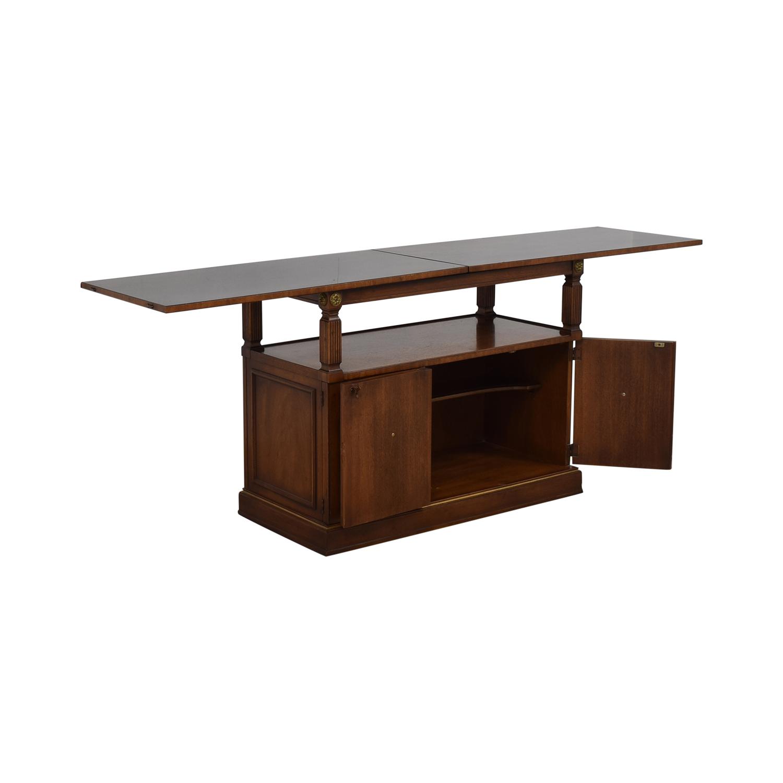 buy Drexel Heritage Traditional Wood Buffet Table Drexel Heritage Storage