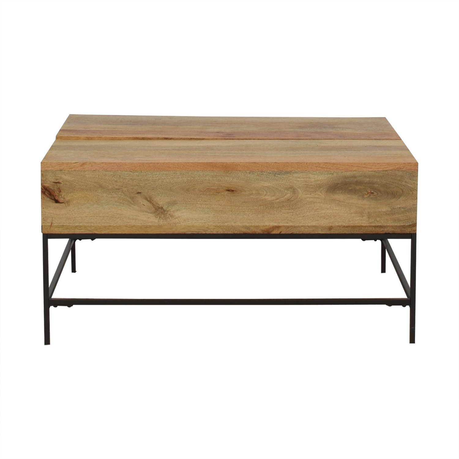 West Elm Industrial Storage Pop-Up Table / Tables