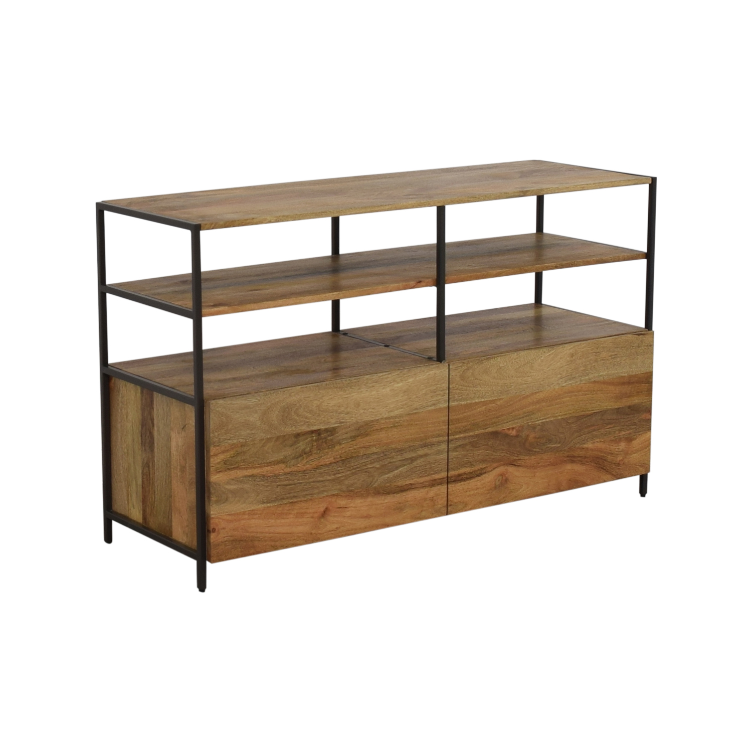 West Elm West Elm Industrial Modular Media Console for sale