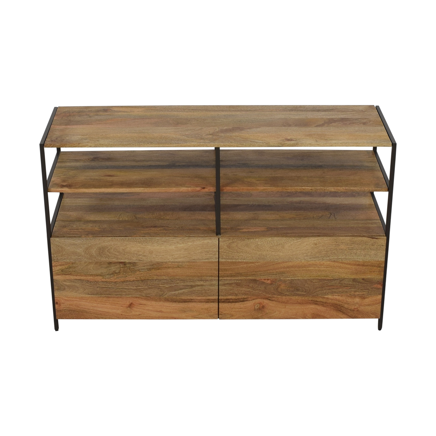 shop West Elm Industrial Modular Media Console West Elm Media Units