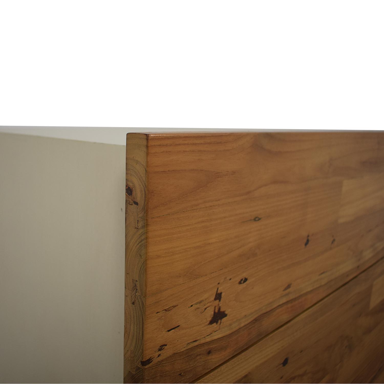 EQ3 Reclaimed Teak Double Dresser / Storage