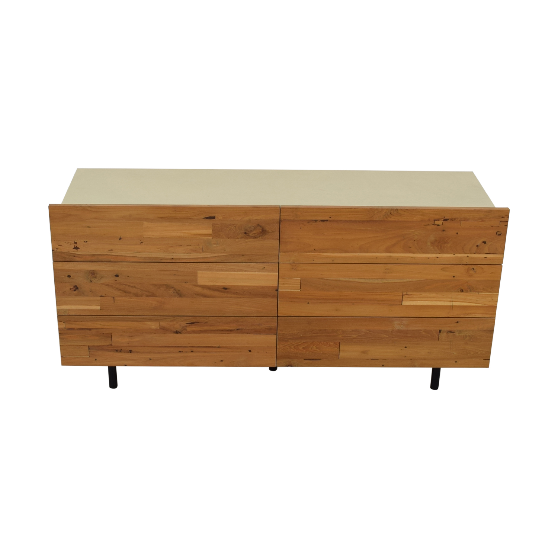 EQ3 EQ3 Reclaimed Teak Double Dresser discount