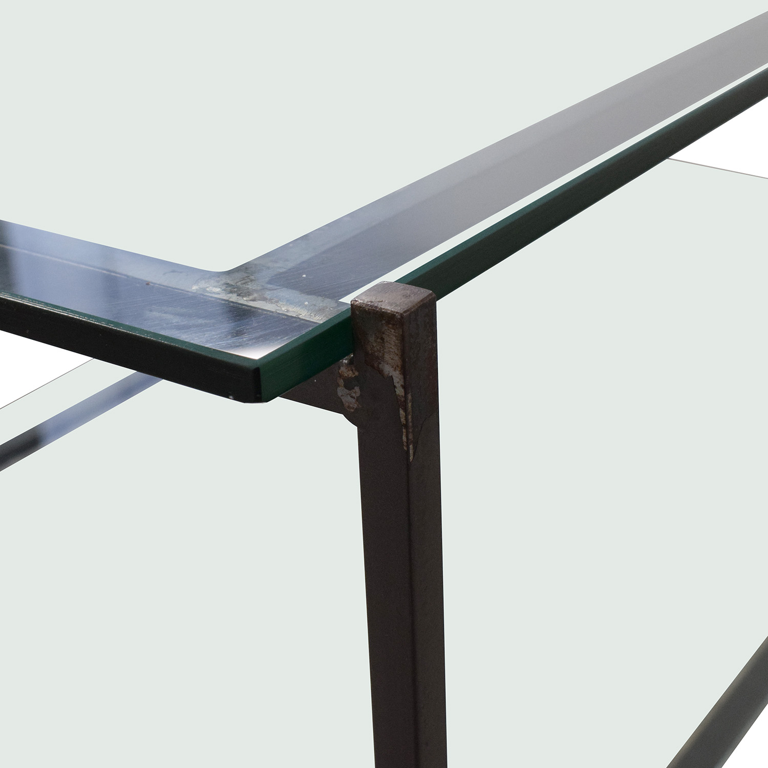 West Elm West Elm Glass Coffee Table nyc