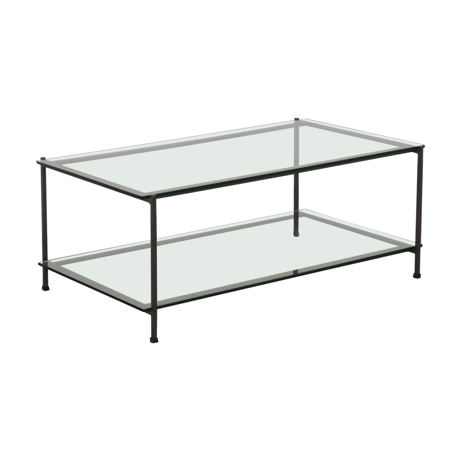 West Elm Glass Coffee Table / Coffee Tables