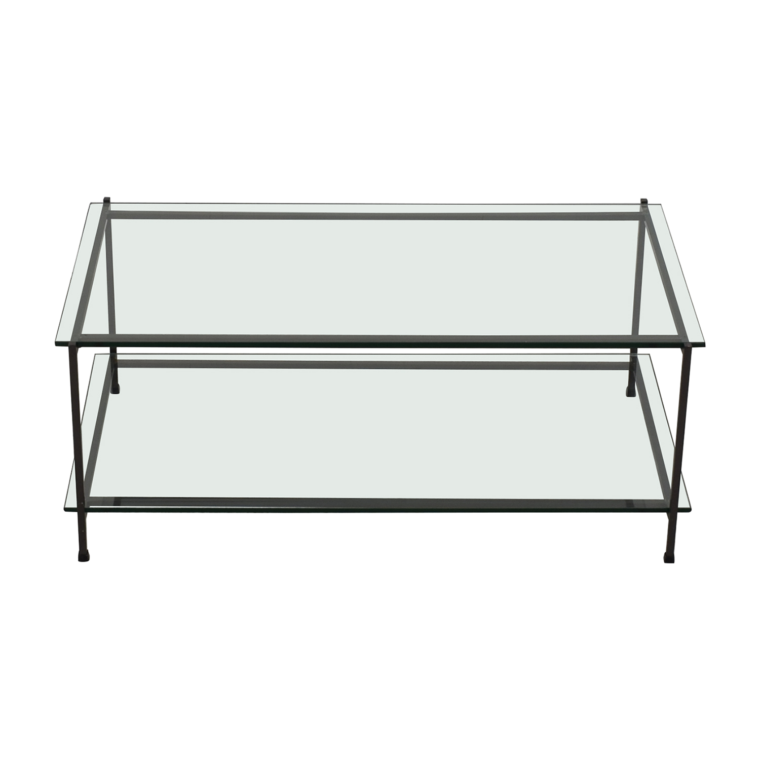 West Elm West Elm Glass Coffee Table Tables