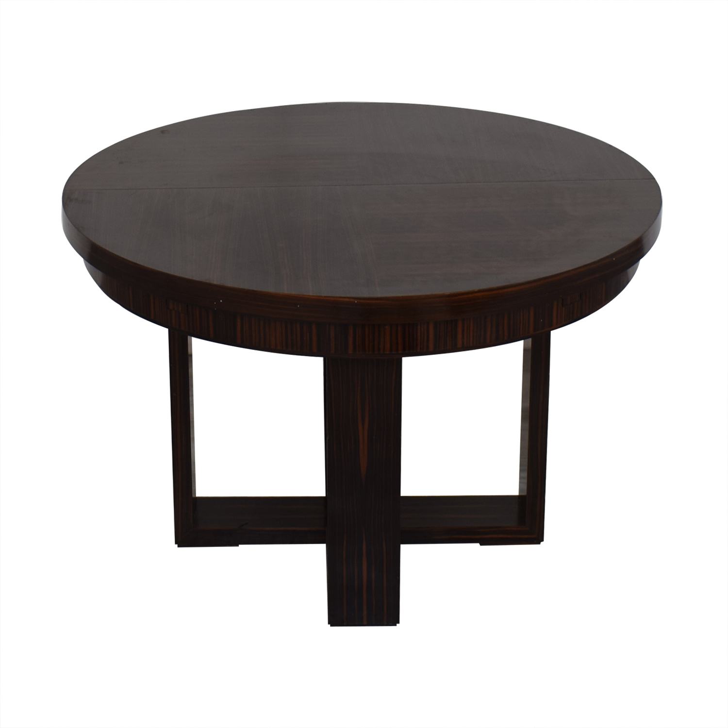 Annibale Colombo Annibale Colombo Extension Dining Table dark brown