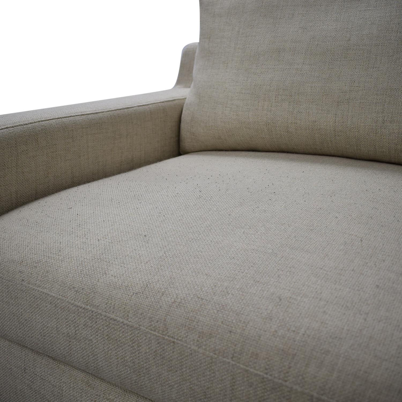 Interior Define Sloan L-Shaped Sectional Sofa beige