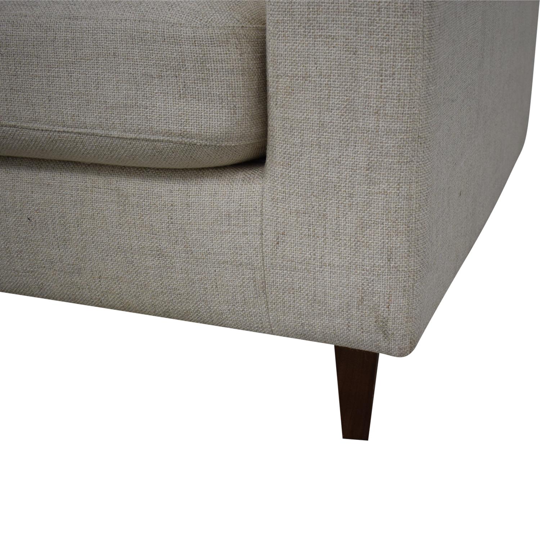 Interior Define Sloan L-Shaped Sectional Sofa