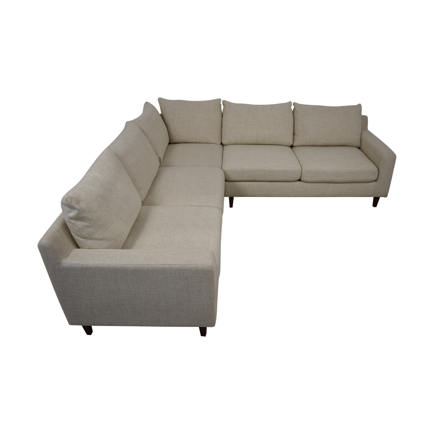 48% OFF - Sloan L-Shaped Sectional Sofa / Sofas