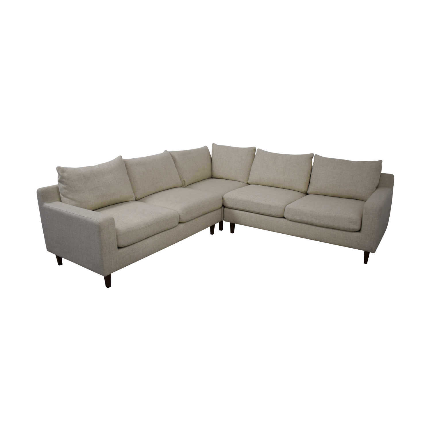 buy Sloan L-Shaped Sectional Sofa Interior Define