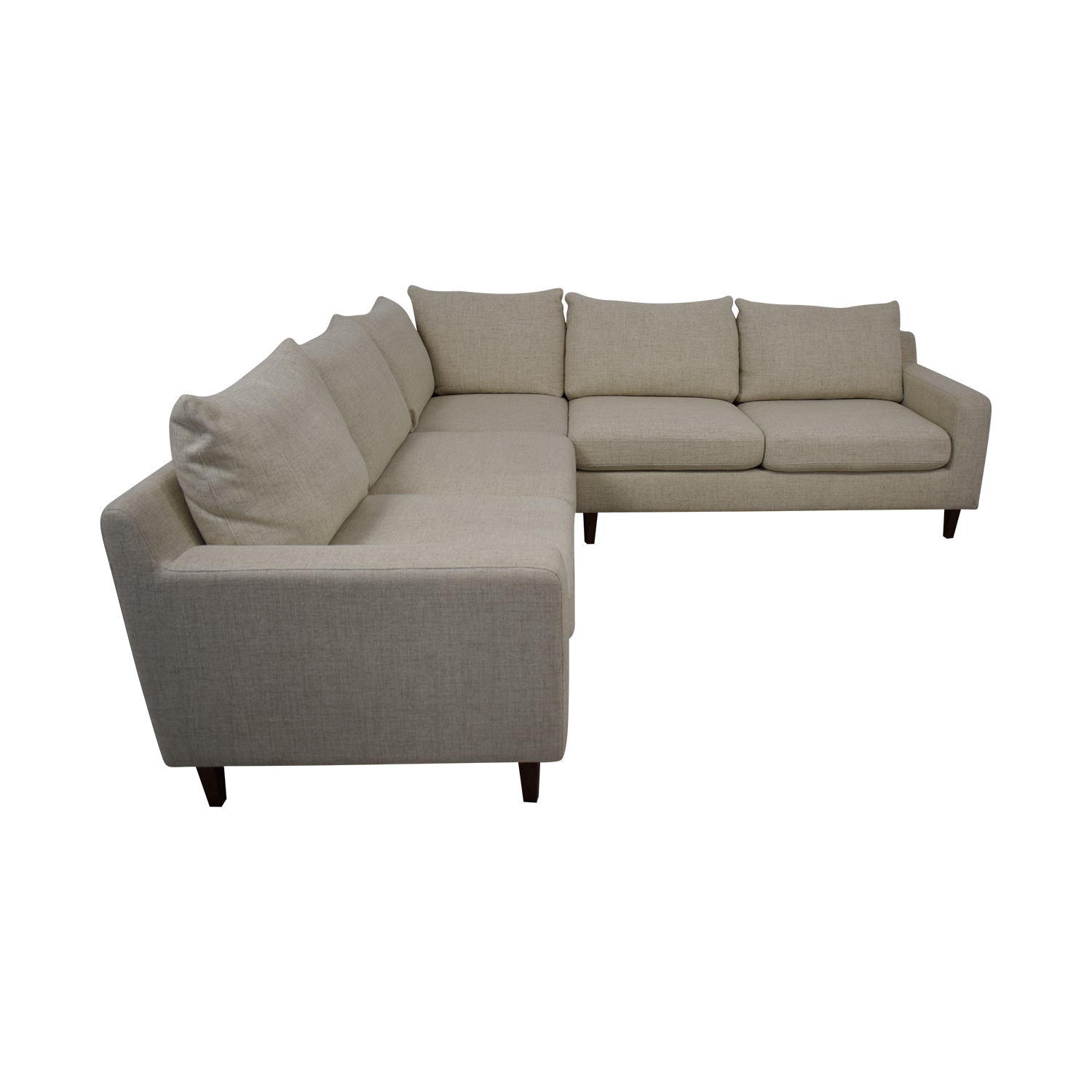 Interior Define Sloan L-Shaped Sectional Sofa nj