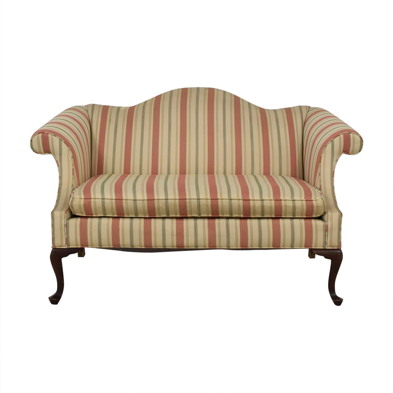 86 Off Ethan Allen Queen Anne Loveseat Sofas