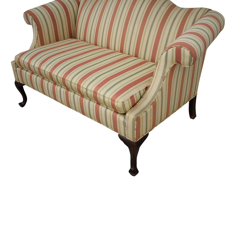 Groovy 84 Off Ethan Allen Ethan Allen Queen Anne Loveseat Sofas Ibusinesslaw Wood Chair Design Ideas Ibusinesslaworg