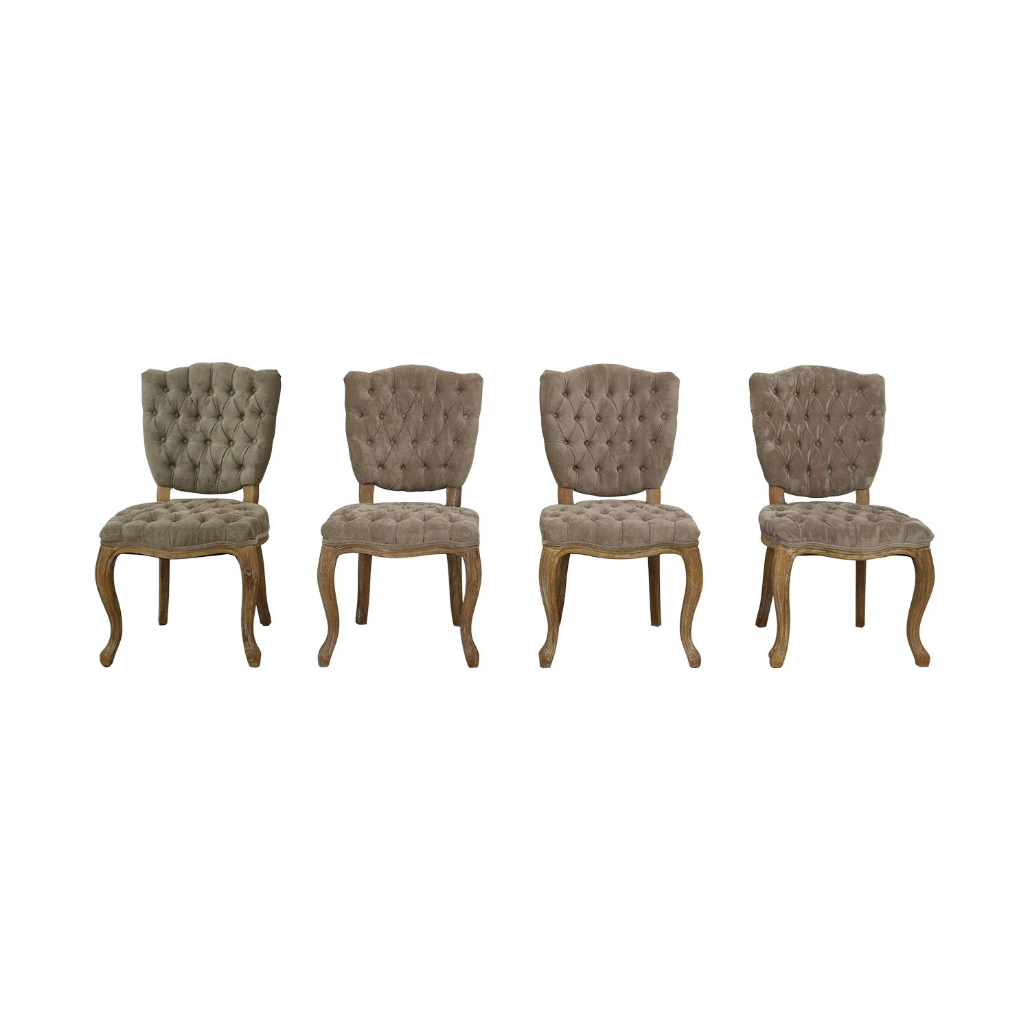 Arhaus Arhaus Ava Side Chairs Grey