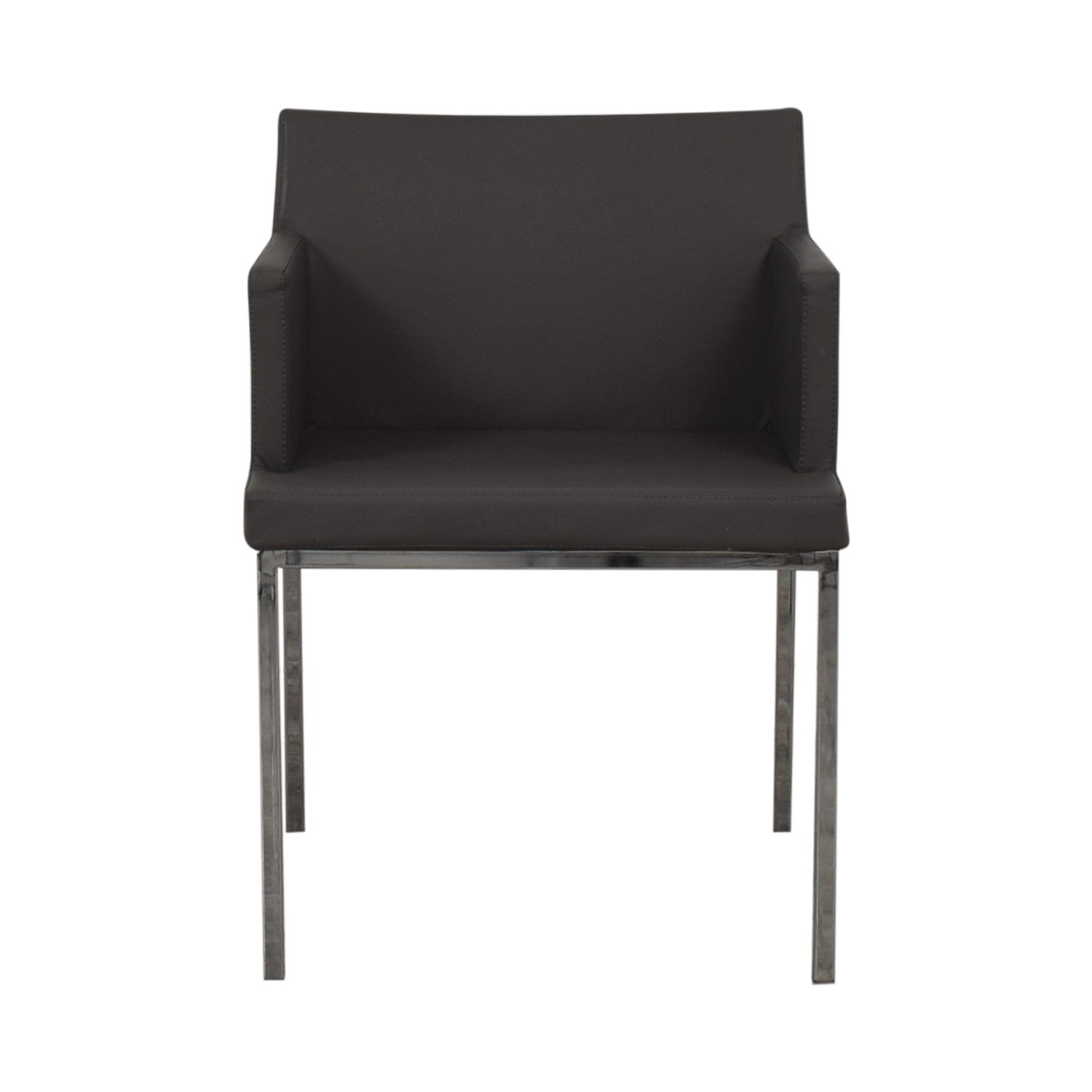 shop Lazzoni Lazzoni Leather Chrome Chair online