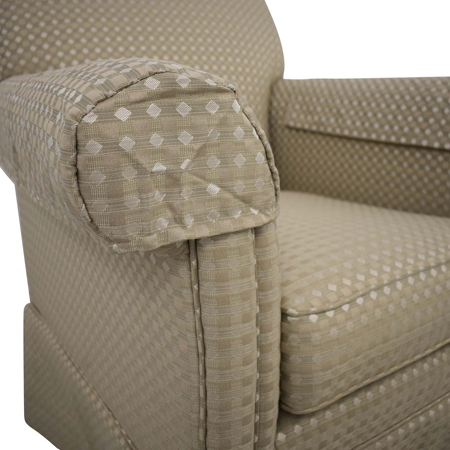 Ethan Allen Slipcovered Chair sale