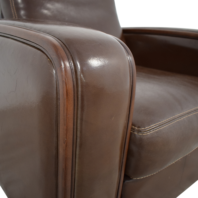 Maurice Villency Maurice Villency Elle Salotti Armchair Chairs
