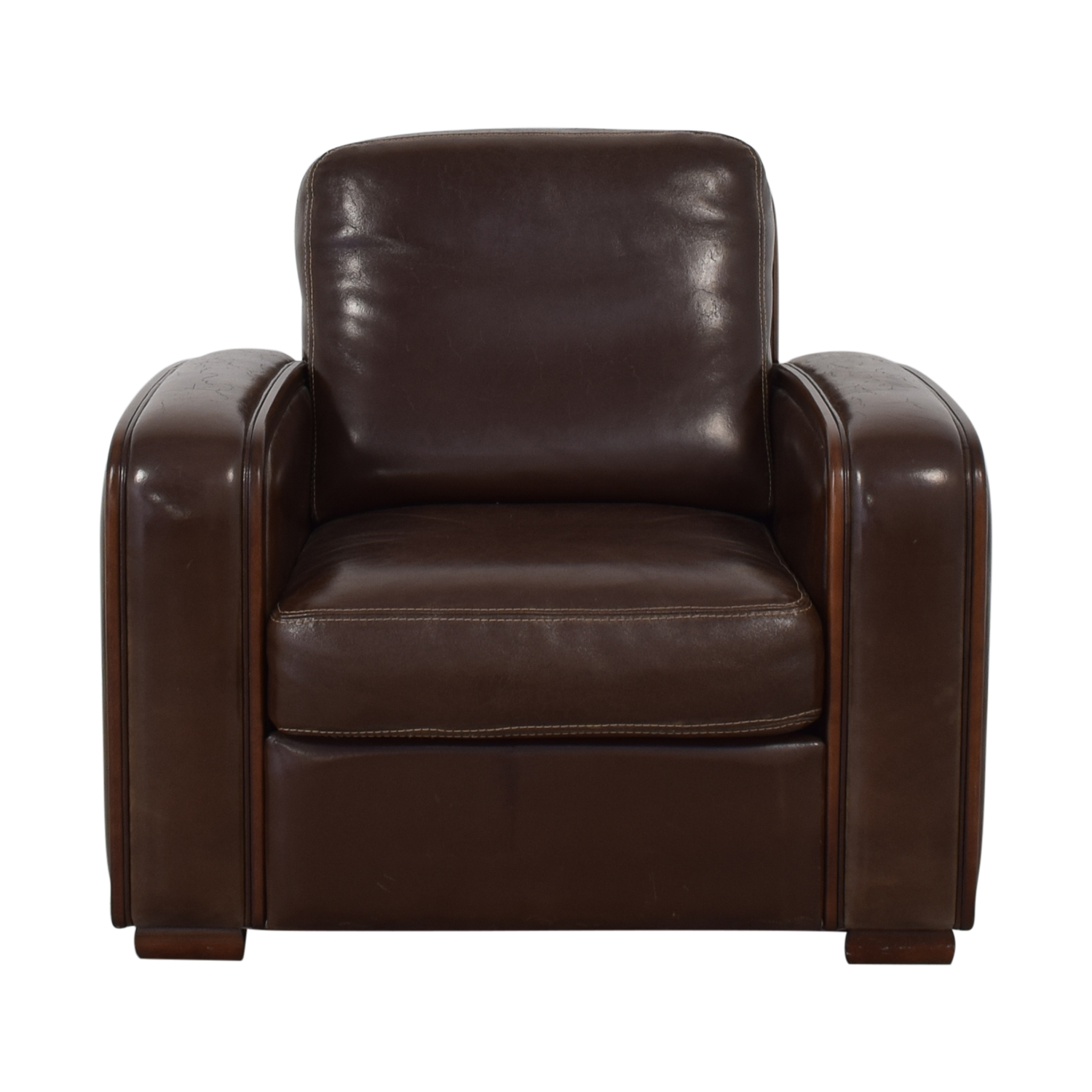 buy Maurice Villency Elle Salotti Armchair Maurice Villency