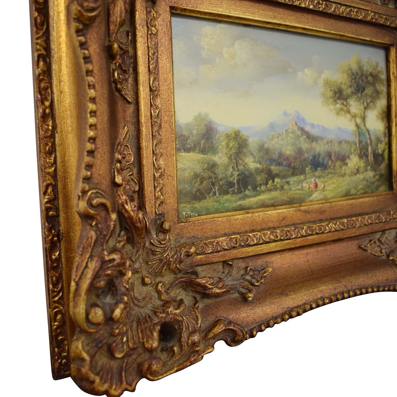 Framed Landscape Painting dimensions