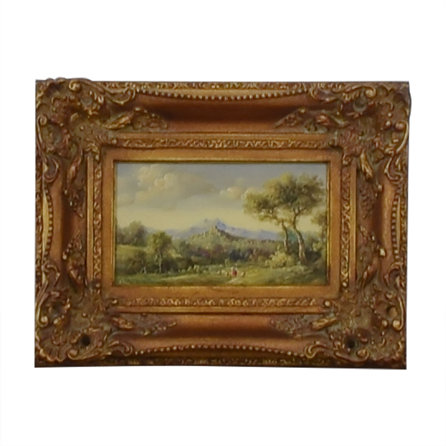 Framed Landscape Painting on sale