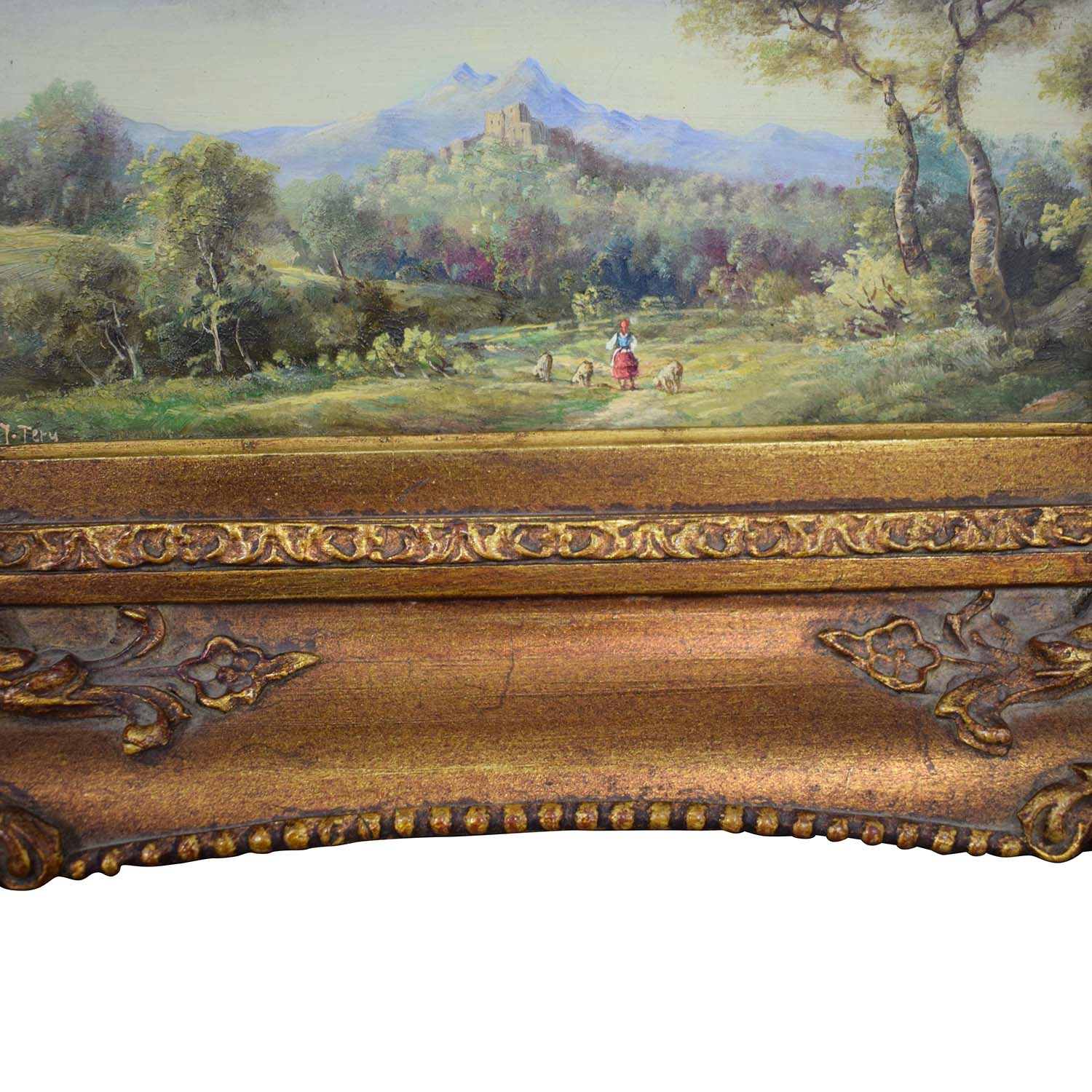 buy Framed Landscape Painting