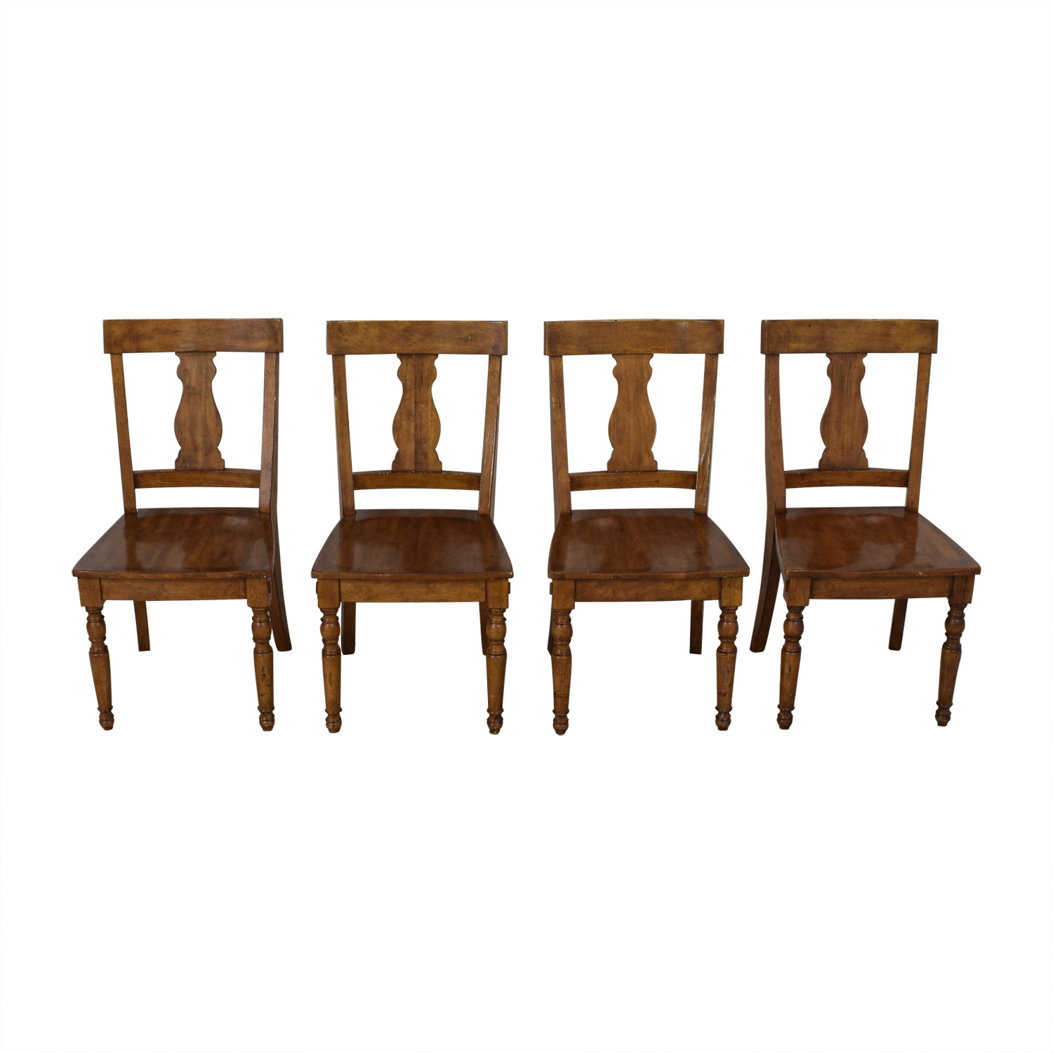 buy Pottery Barn Harvest Dining Side Chairs Pottery Barn