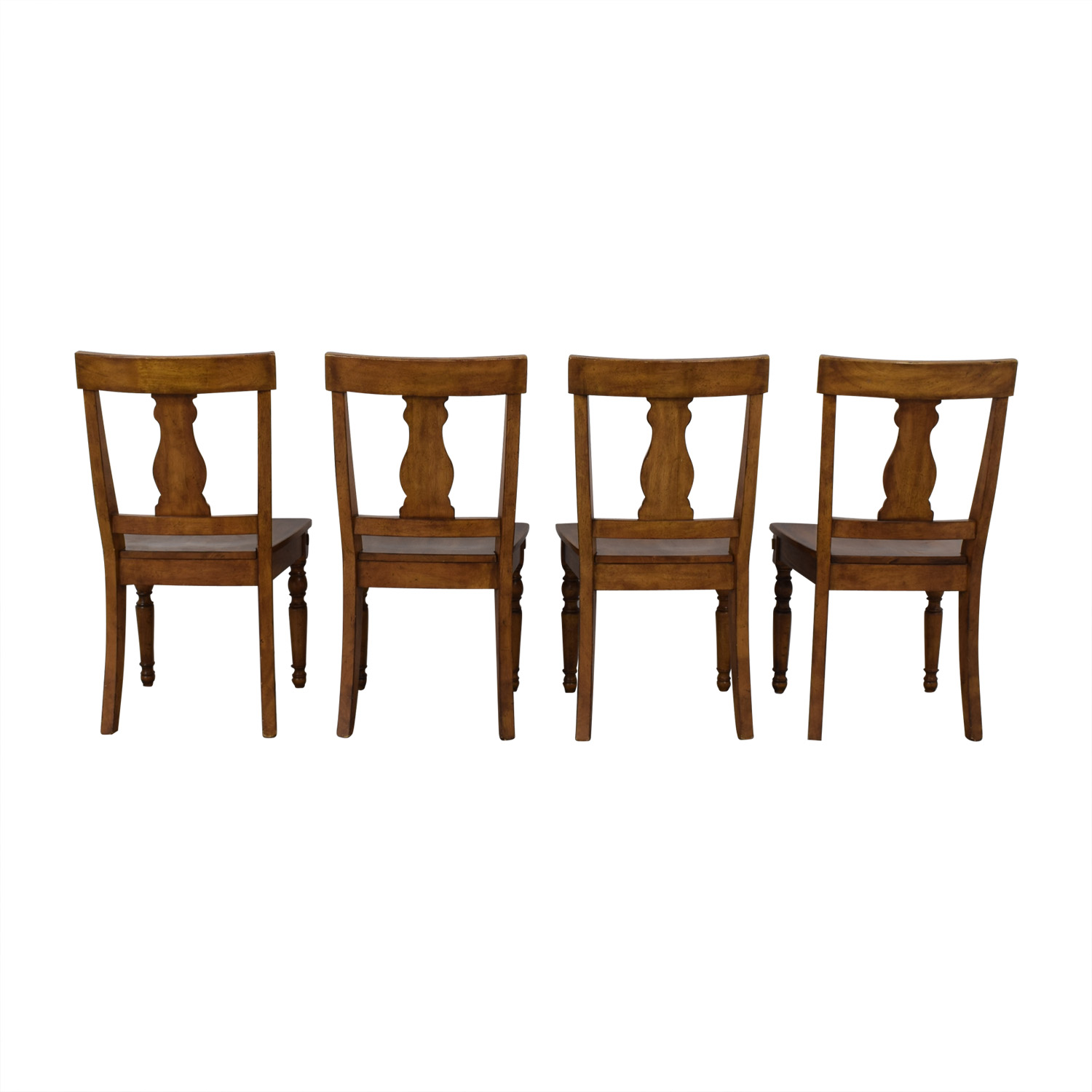 Pottery Barn Pottery Barn Harvest Dining Side Chairs used