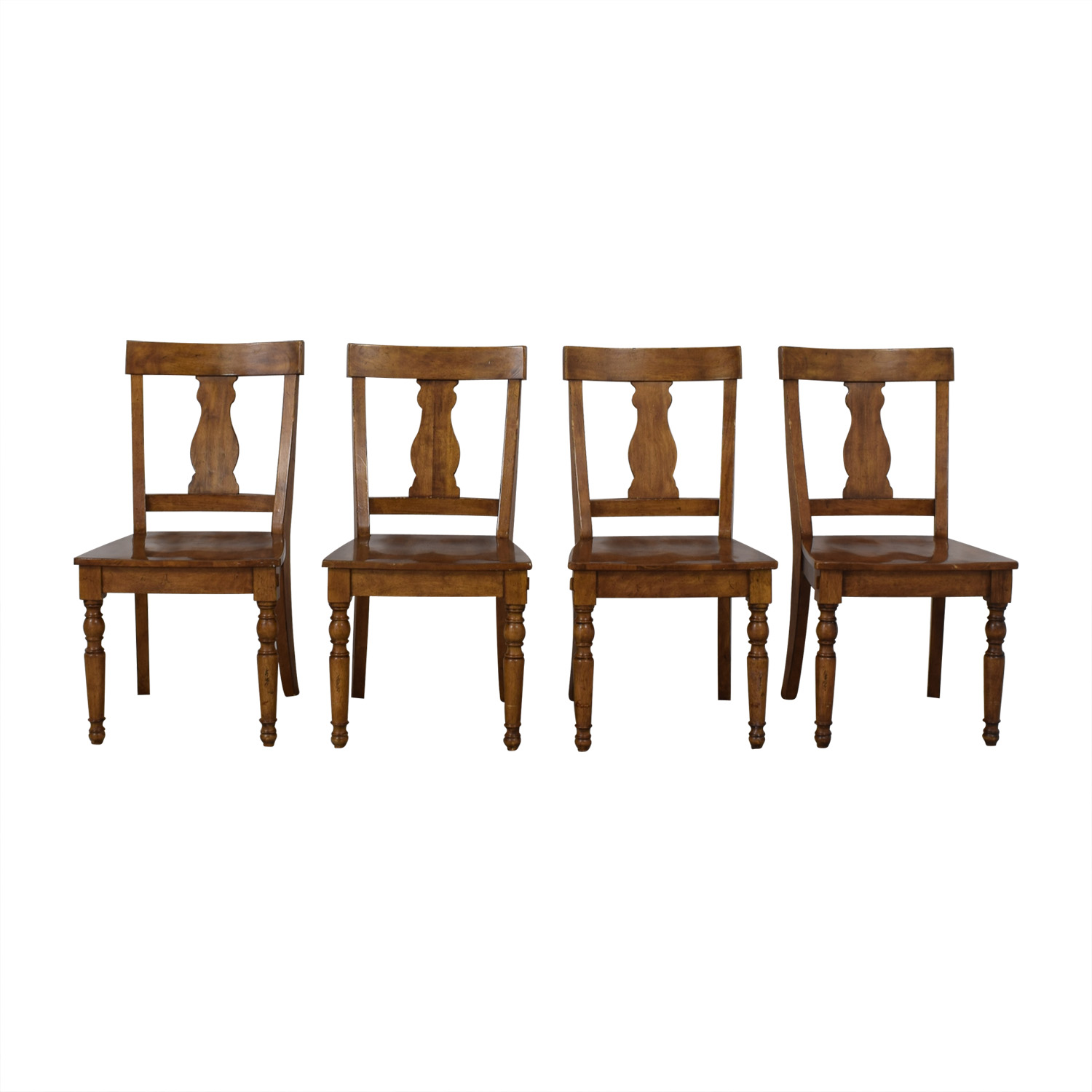 Pottery Barn Pottery Barn Harvest Dining Side Chairs dimensions