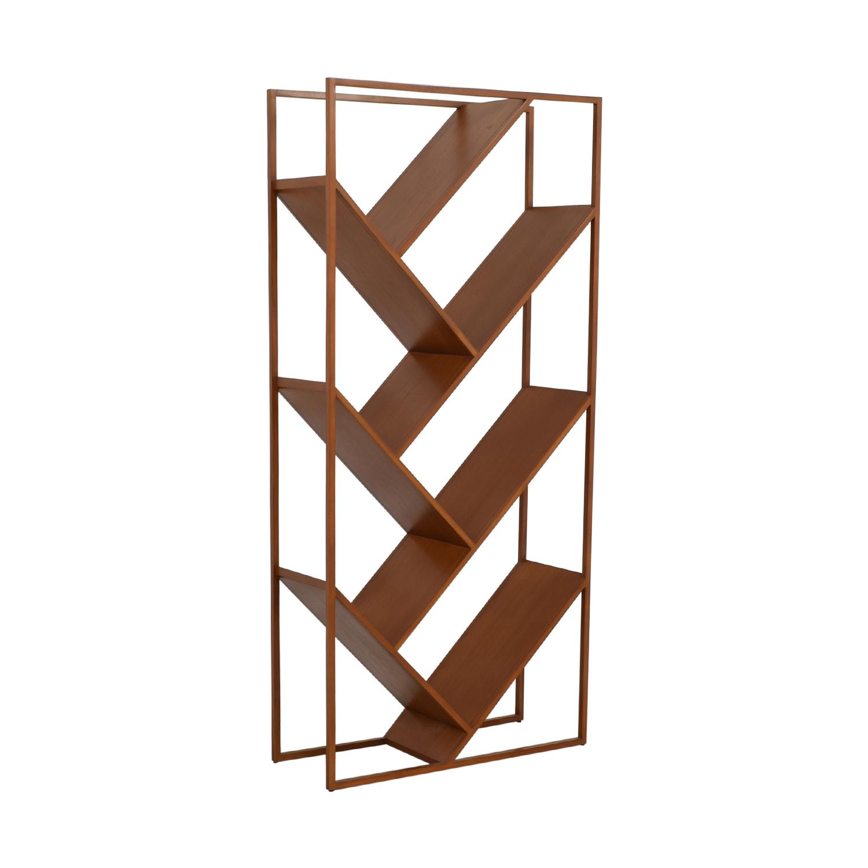 CB2 Geometric Bookcase / Bookcases & Shelving