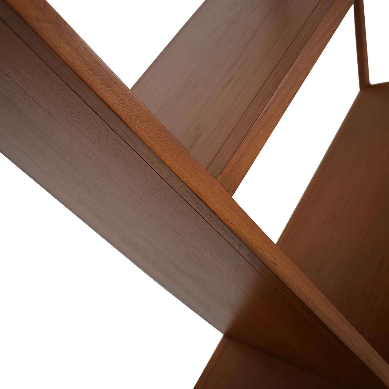 CB2 CB2 Geometric Bookcase used