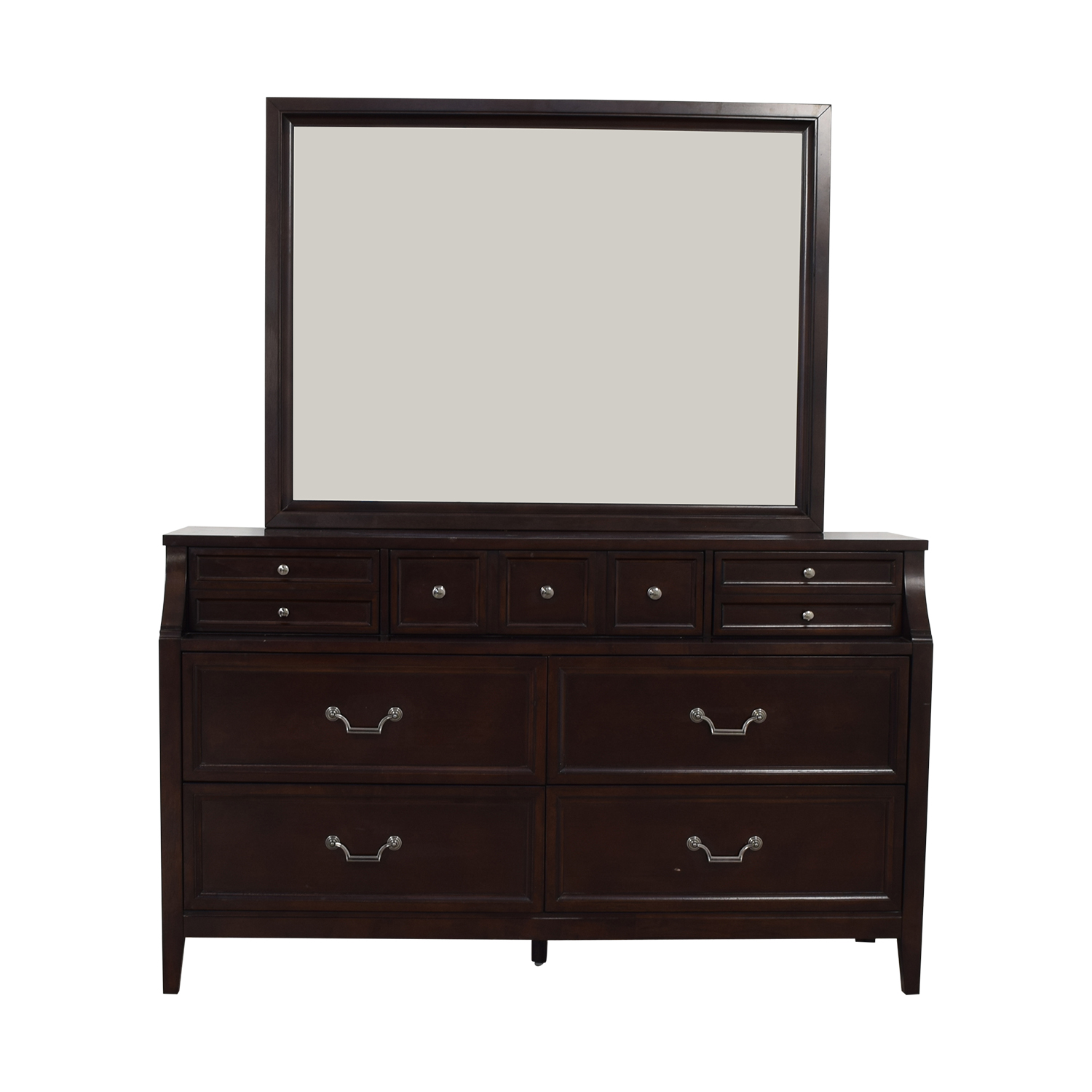 shop Najarian Furniture Dresser with Mirror Najarian Furniture Dressers
