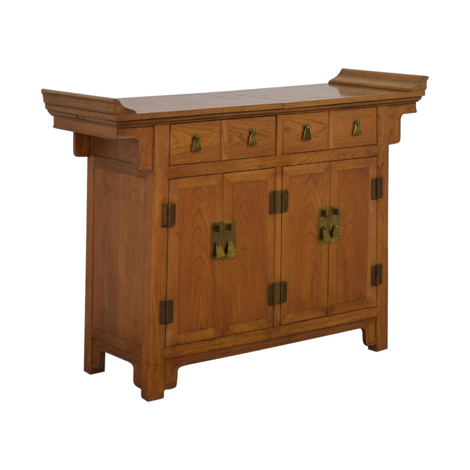 Baker Furniture Michael Taylor for Baker Furniture Bar Cabinet nj