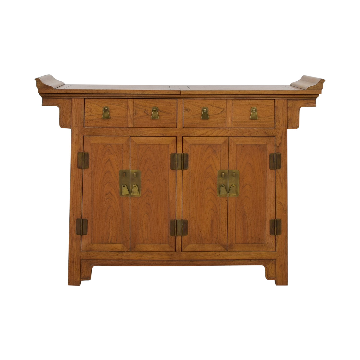 Baker Furniture Michael Taylor for Baker Furniture Bar Cabinet Storage