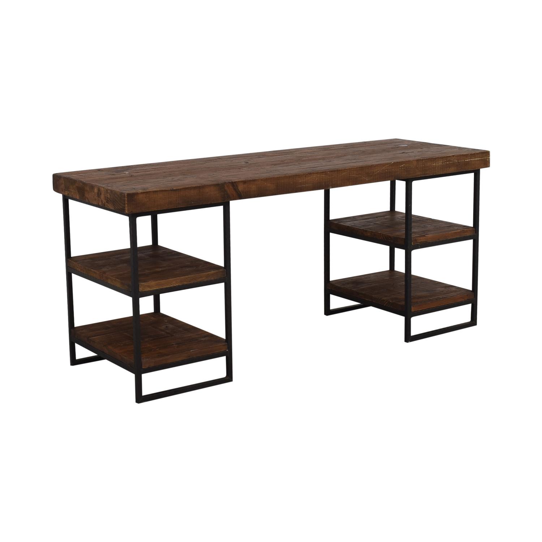 West Elm Hewn Wood Desk / Home Office Desks