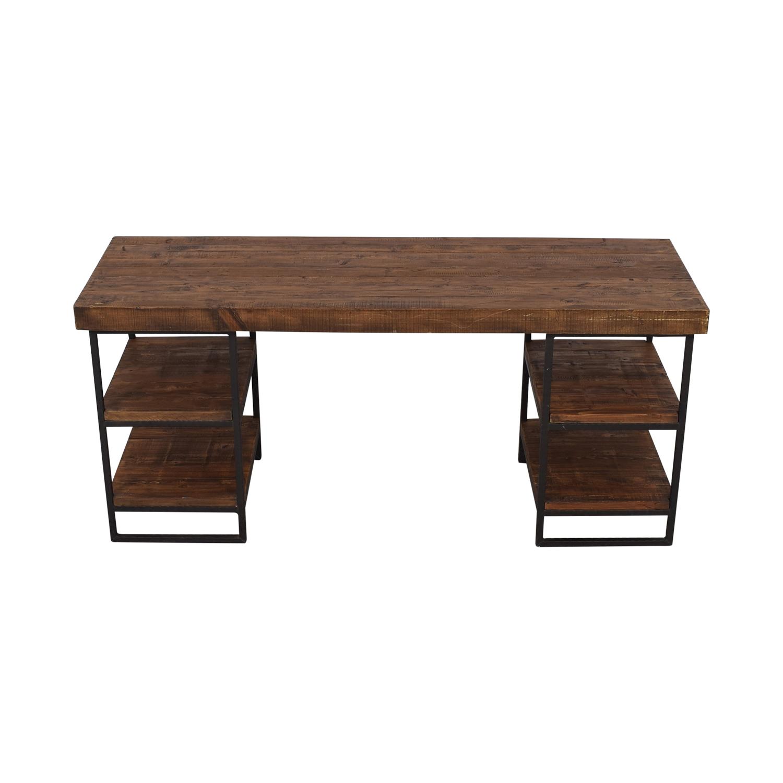 West Elm West Elm Hewn Wood Desk for sale