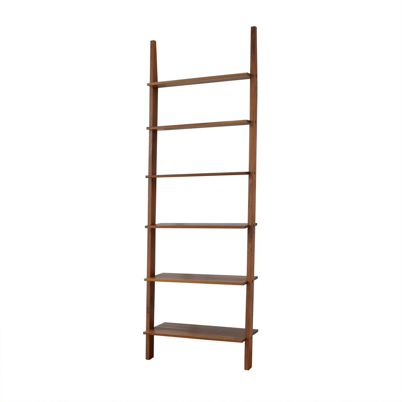 Room & Board Pisa Leaning Bookshelf / Storage