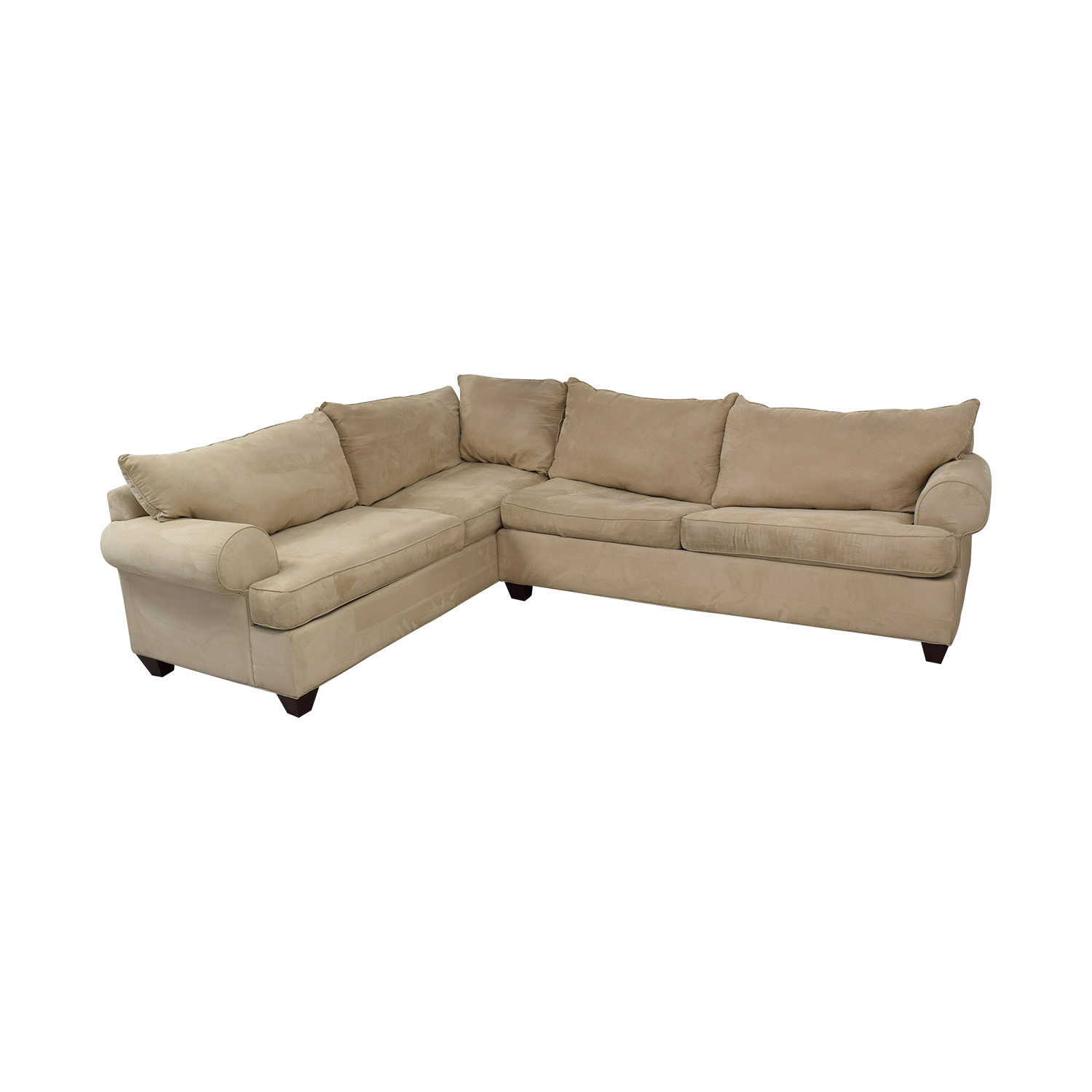 shop Raymour & Flanigan Raymour & Flanigan Queen Sleeper Sectional online