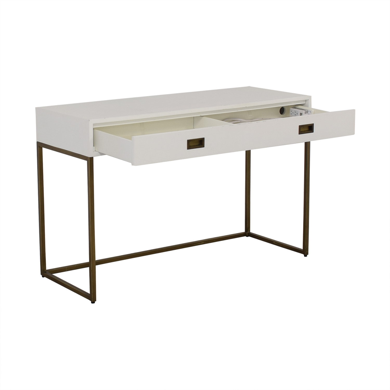buy Restoration Hardware Avalon Desk Restoration Hardware Tables