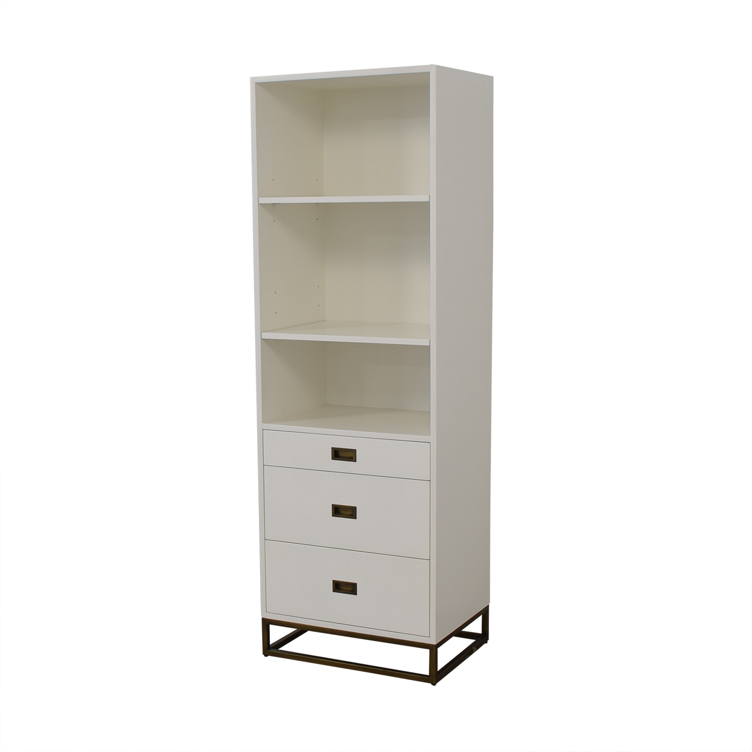 buy Restoration Hardware Avalon Bookcase Tower Restoration Hardware