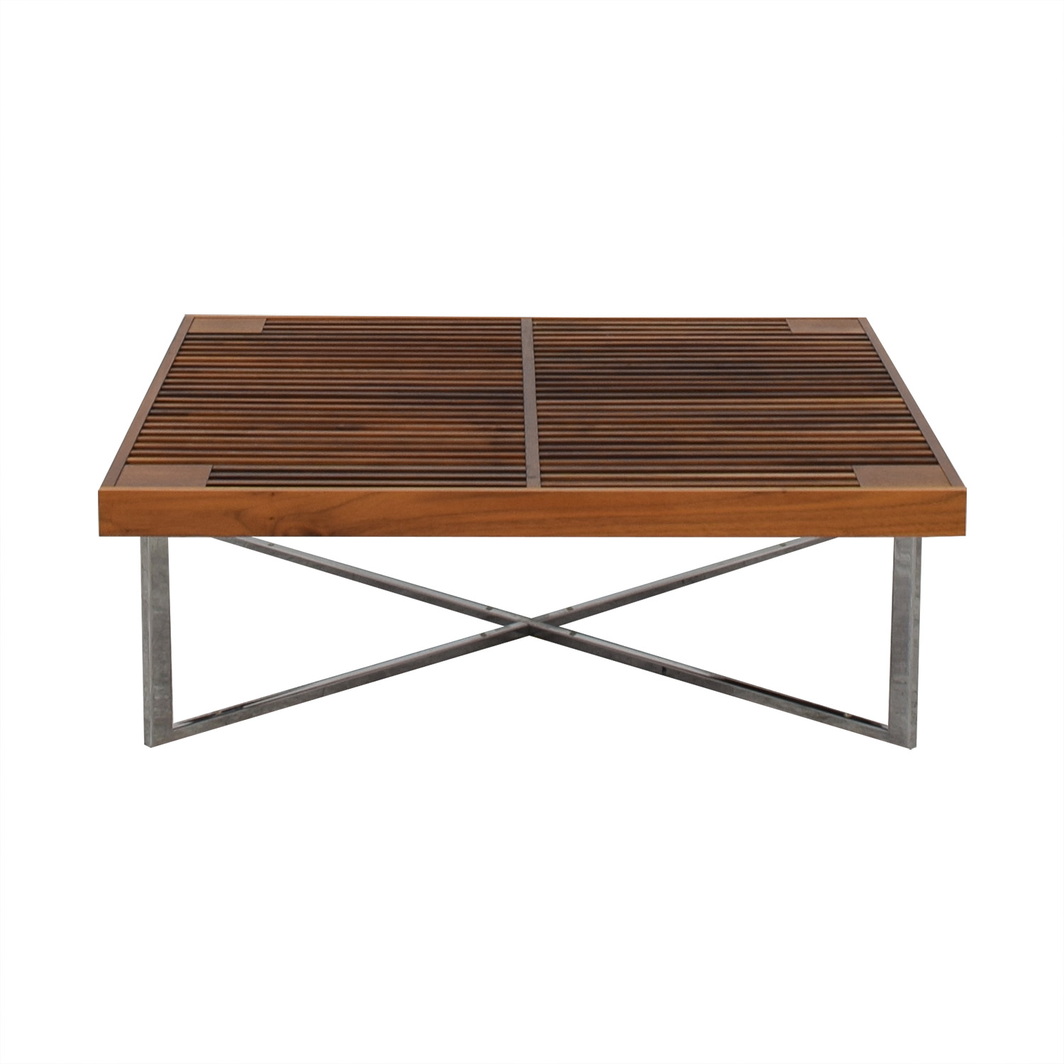 shop Ligne Roset Ponton Low Double Surfaced Coffee Table Ligne Roset