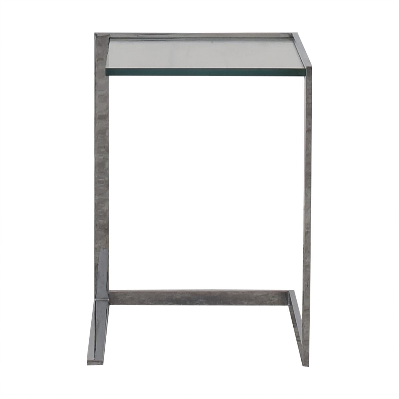 shop Ligne Roset Glass End Table Ligne Roset End Tables