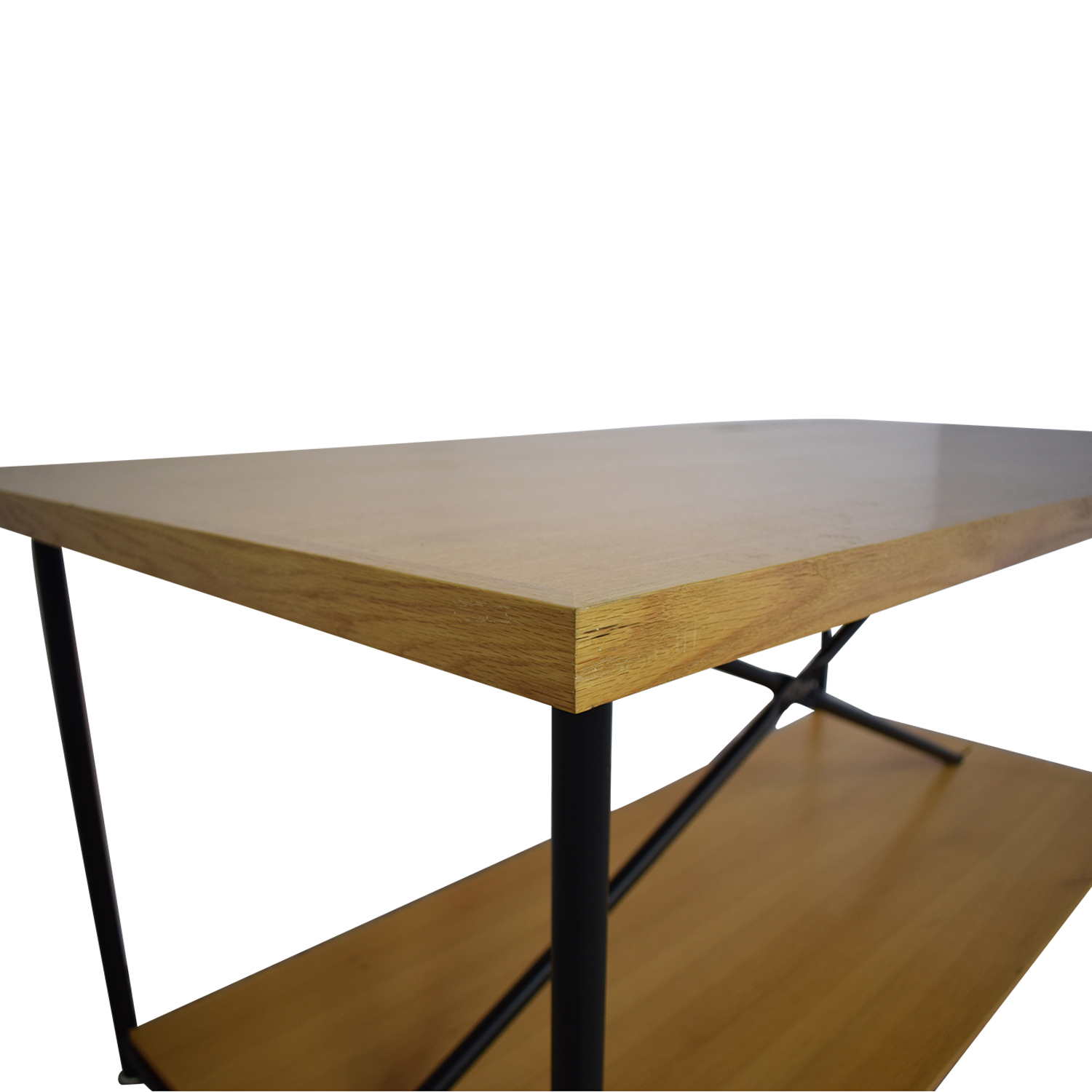 Wooden Work Table with Wheels for sale