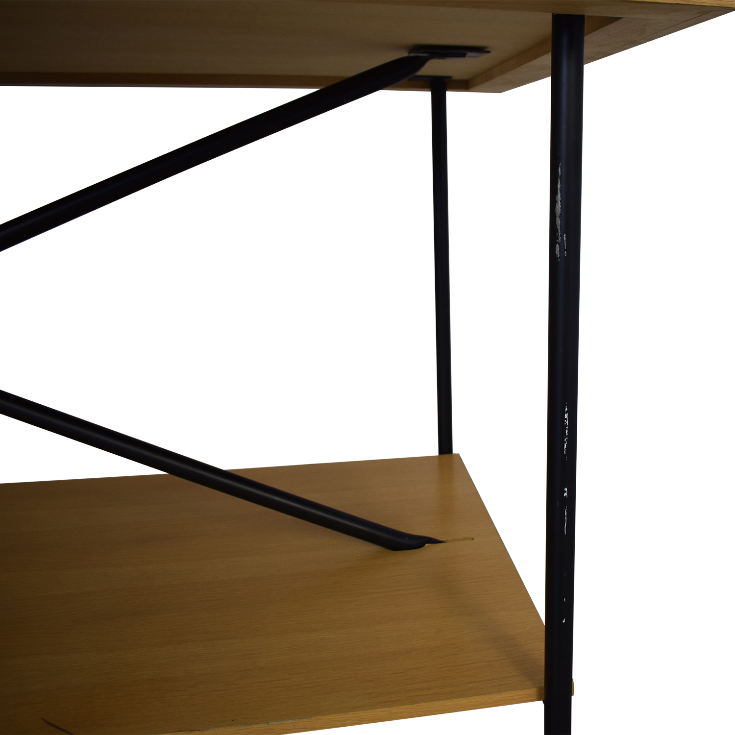 buy Wooden Work Table with Wheels  Home Office Desks