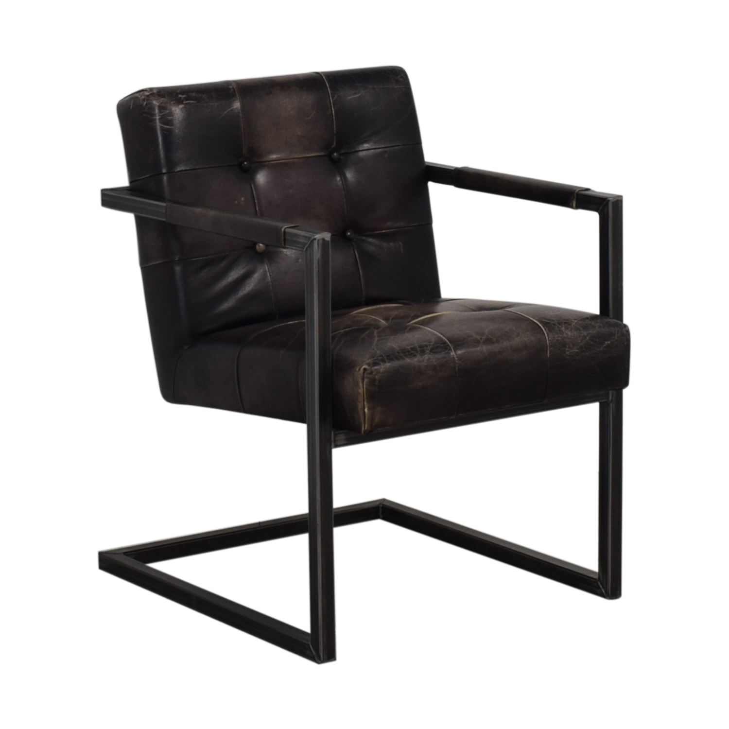 Olde Good Things Vintage Leather Chair discount