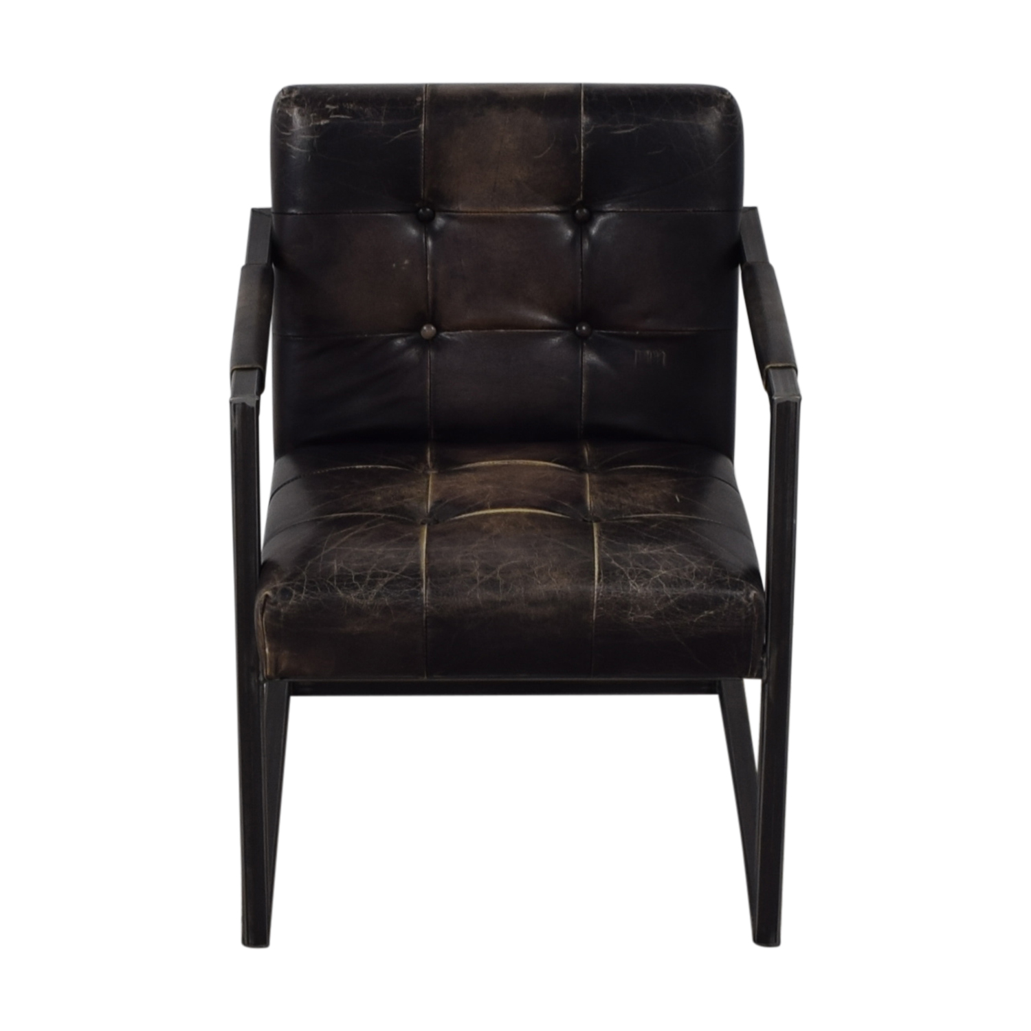 Olde Good Things Vintage Leather Chair price