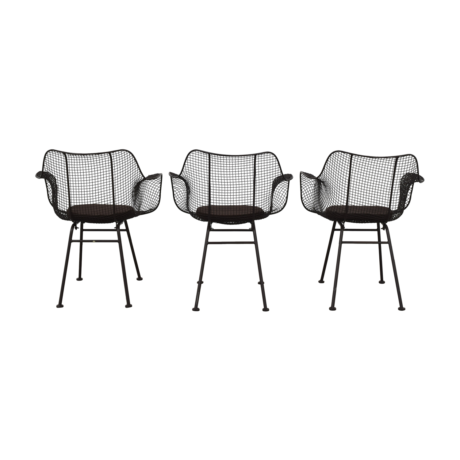shop Restoration Hardware Restoration Hardware Metal Tub Dining Chairs online