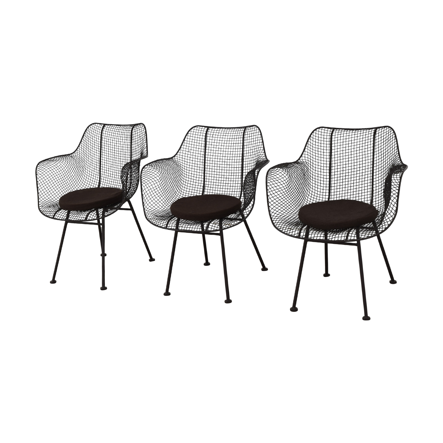 Restoration Hardware Restoration Hardware Metal Tub Dining Chairs coupon