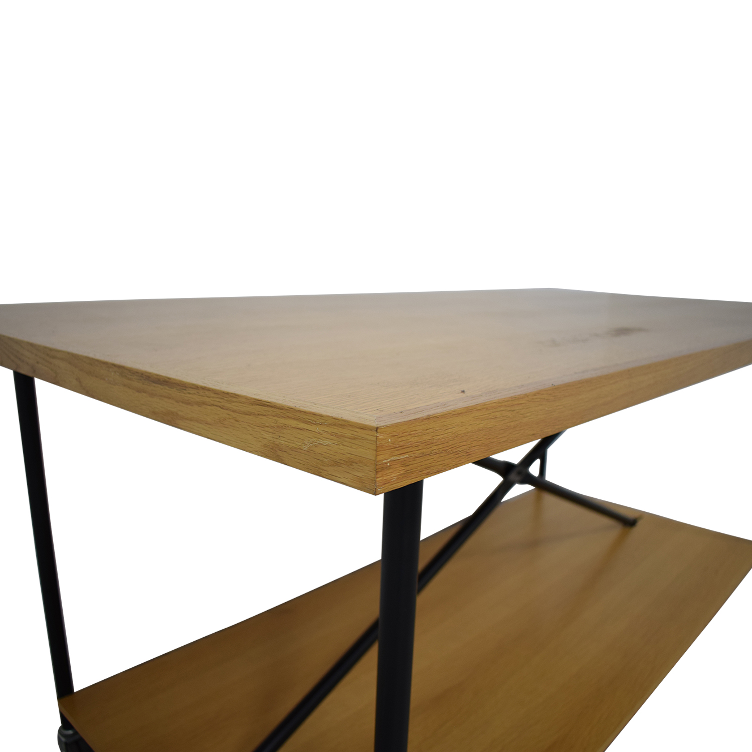 shop Wooden Work Table with Wheels  Tables